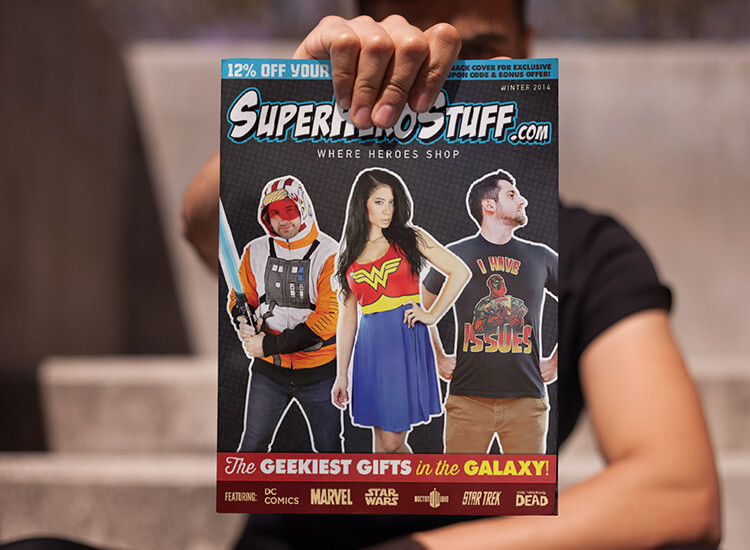 SuperHeroStuff Catalog